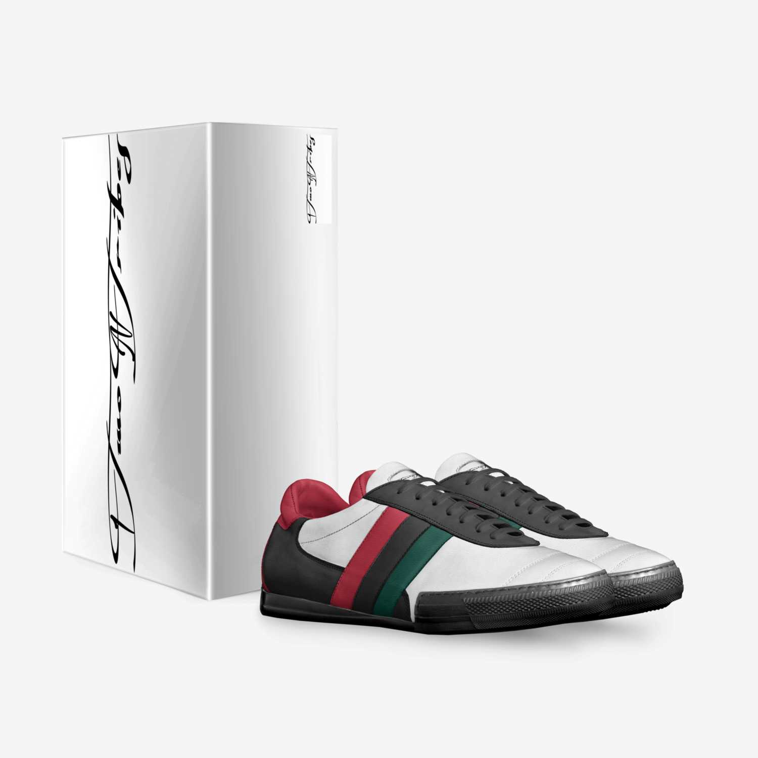 This sporty sneaker is made for fashion. Grants perfect fitting and very high performances. The sole is designed with a back-spoiler and half toe guard, the upper is made with a special 3-stripes flag.
